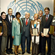 UN Human Rights Award ceremony held at the United Nations in New York in 2008 © UN Photo/Eskinder Debebe